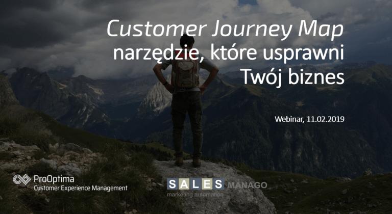 Customer Journey Map - narzędzie, które usprawni Twój biznes Webinarium ProOptima CEM