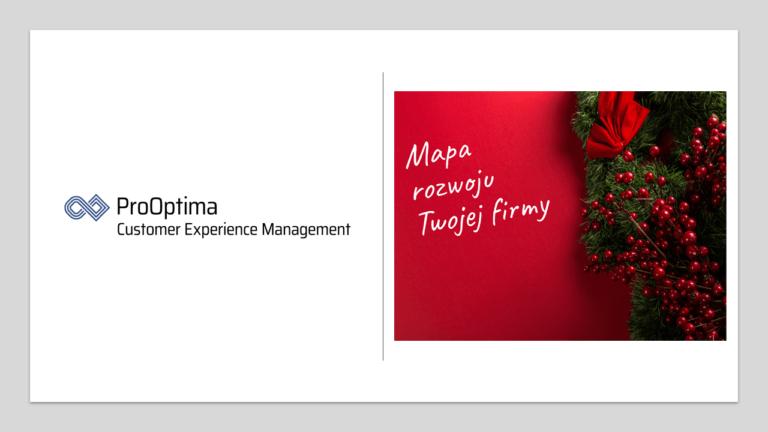 """Pobierz prezentację """"Mapa rozwoju Twojej firmy"""" z webinaru 17.12.2019 ProOptima"""