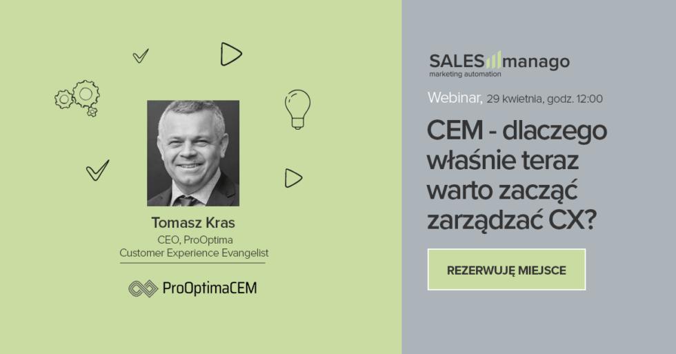 CEM - Customer Experience Management dlaczego właśnie teraz warto zacząć zarządzać CX?