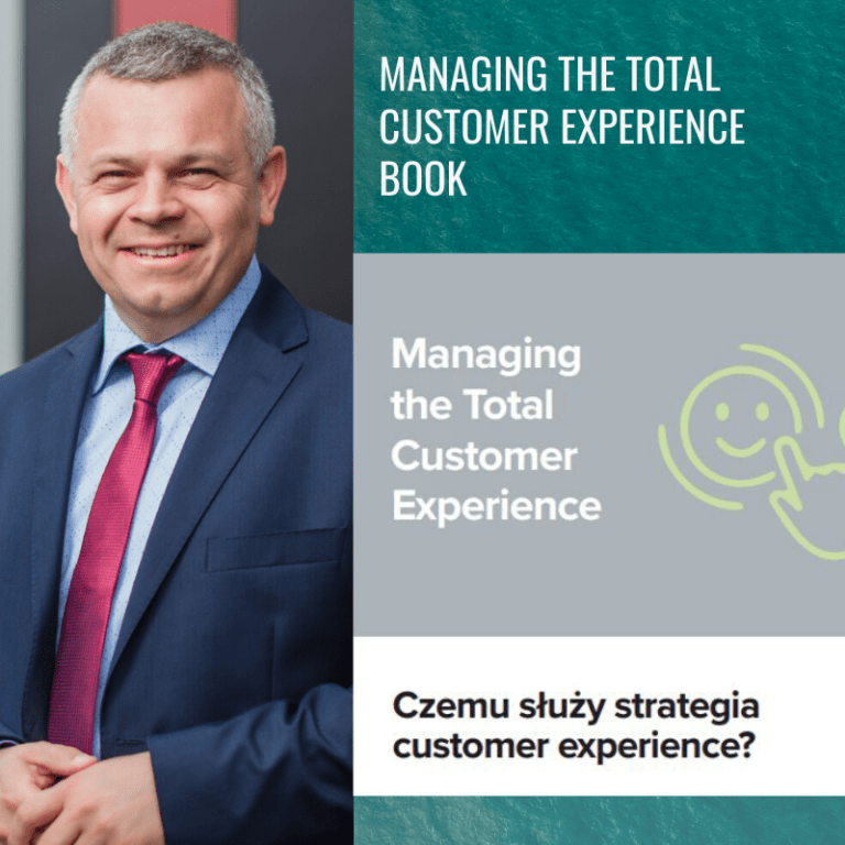Managing the Total Customer Experience - ebook_CEM_ProOptima&SalesManago