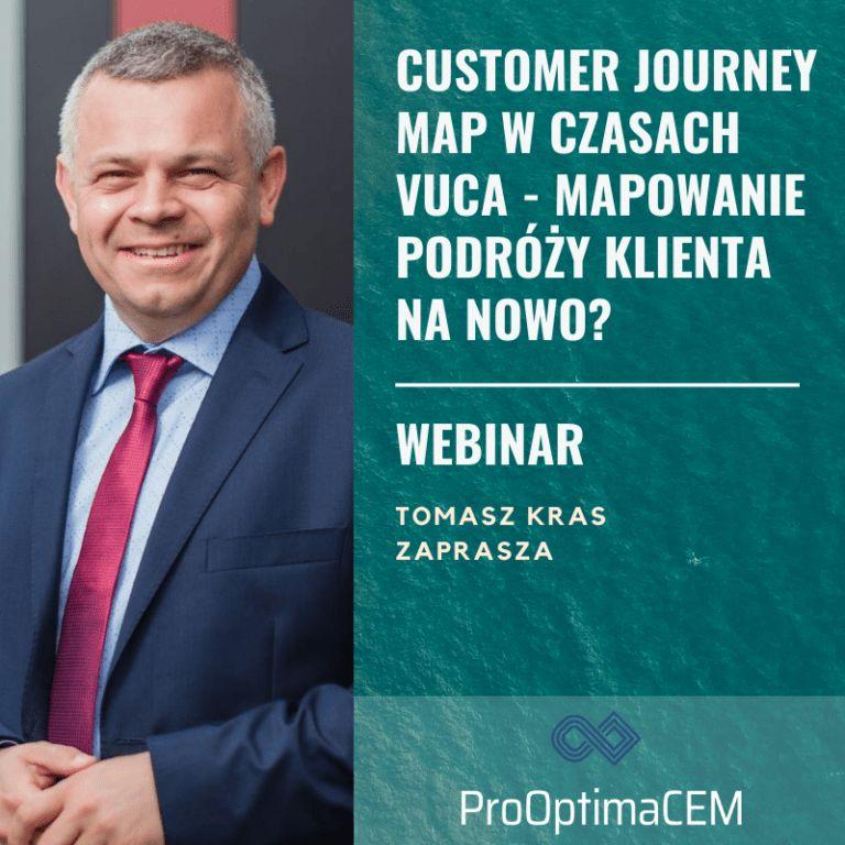 Customer Journey Map w czasach VUCA – mapowanie podróży klienta na nowo?