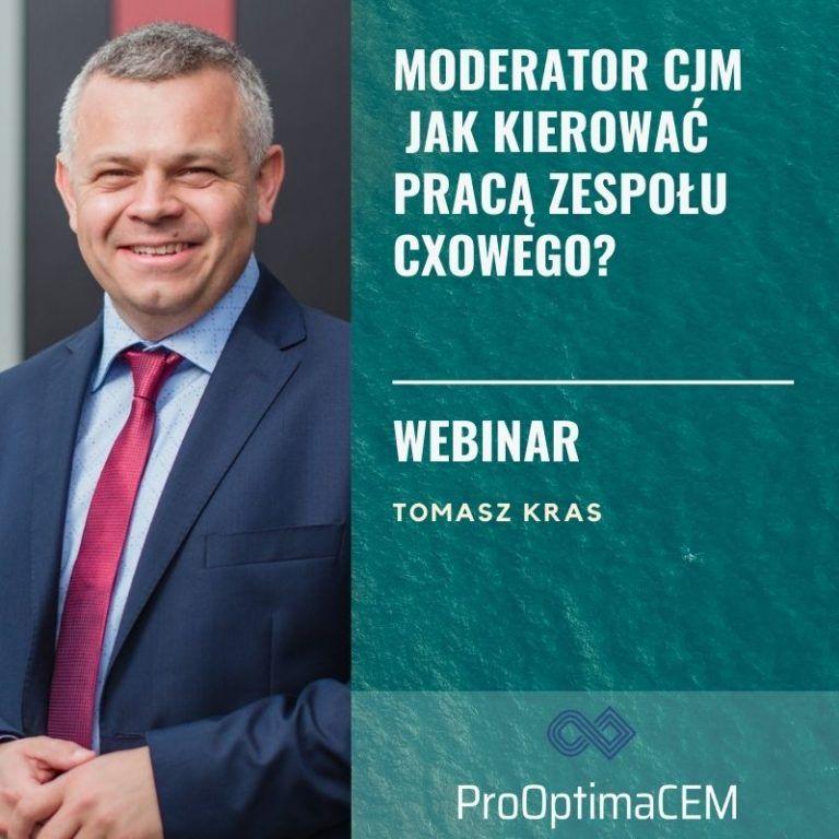 Moderator CJM - jak kierować pracą zespołu CXowego